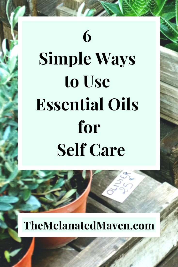 essential oils for self care